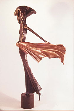 """Breeze"", Sculpture by E. A. Chase"